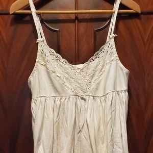Vintage Victoria's secret white eyelet nightgown
